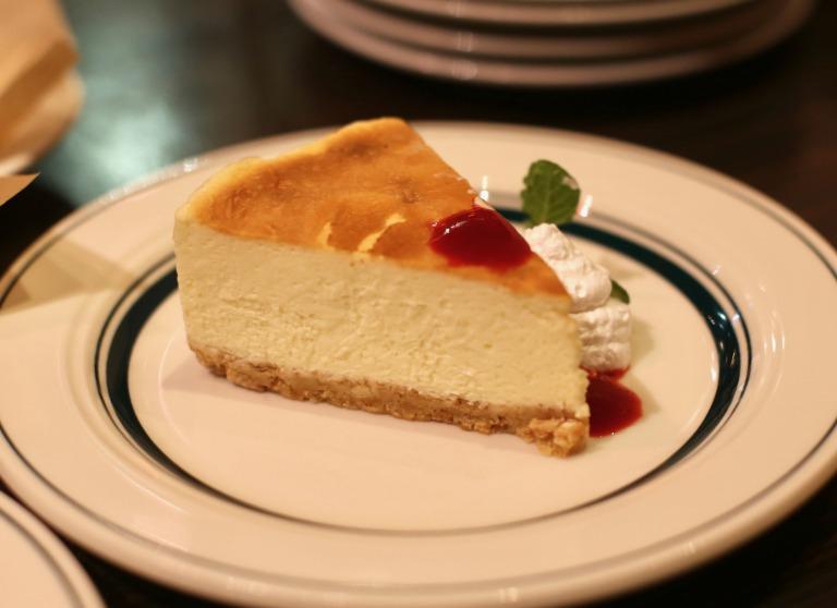 THE LODGE チーズケーキ