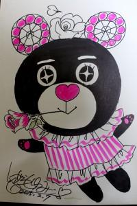 いがらしゆみこ先生が描いたキラキラ系ノルベア