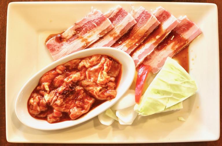 欲張り肉ます定食