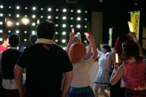 地下アイドルのステージ