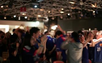 本田選手ゴールの瞬間