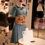 ヤンクリ展会場風景 ファッション作品の展示