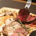 インスタでシェアしたくなる道産肉3種食べ比べ!春のコースを堪能してきた件