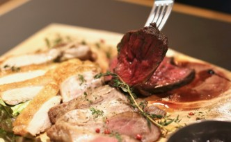 北海道産肉食べ比べ