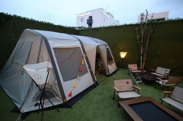 ロゴス製のテント