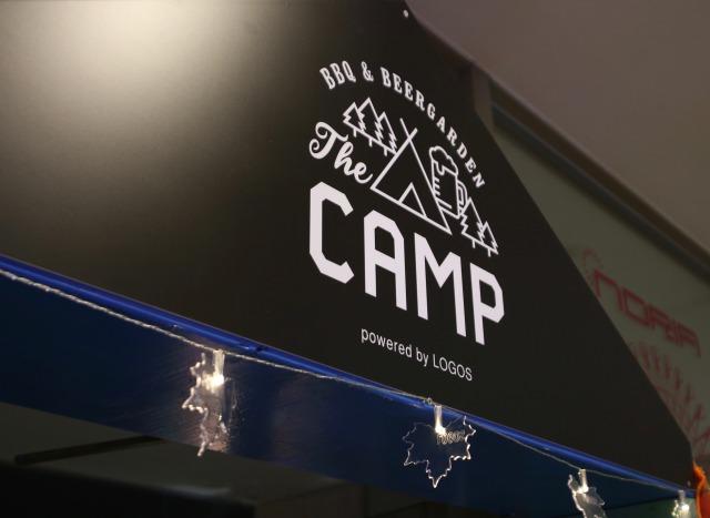 the camp 入り口